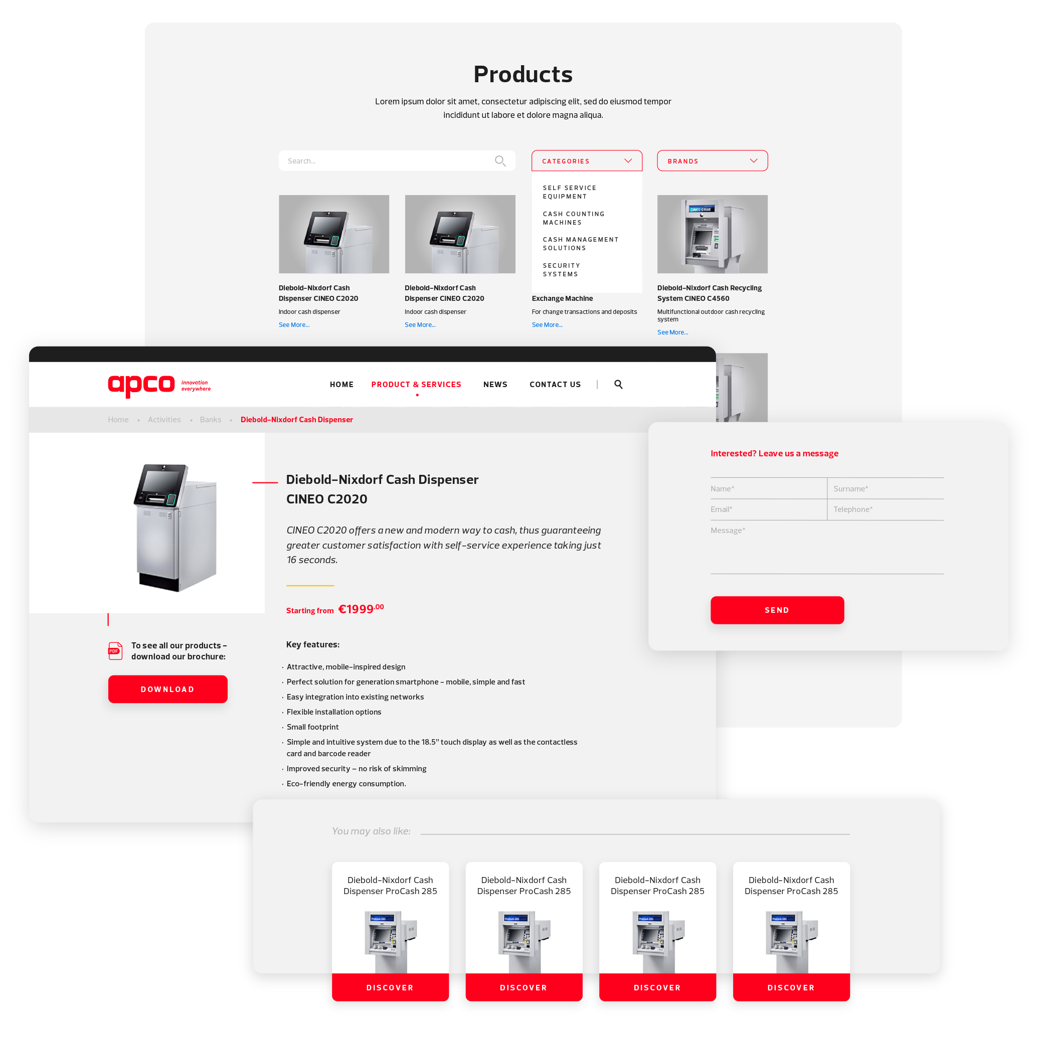 Apco Tech - Product Pages