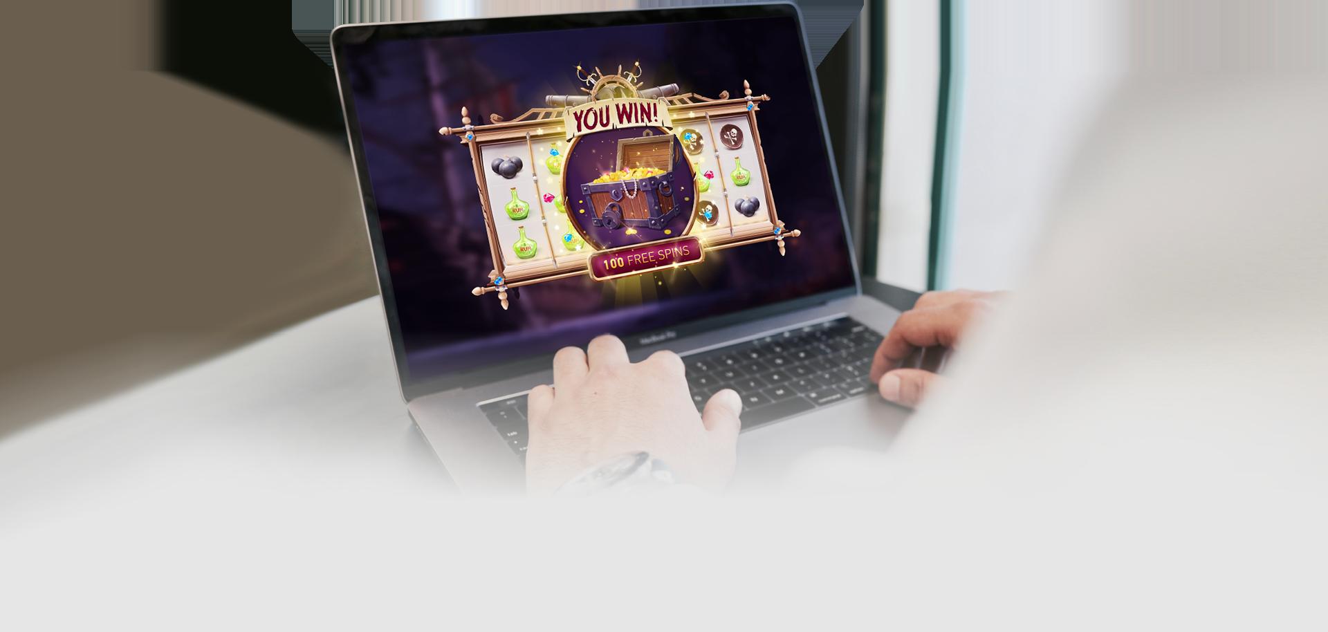 Slot Game Win Screen