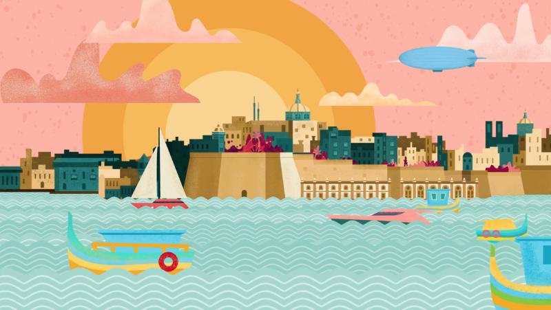 Valletta Video Poster